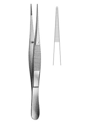 DELICATE DISECTING FORCEPS