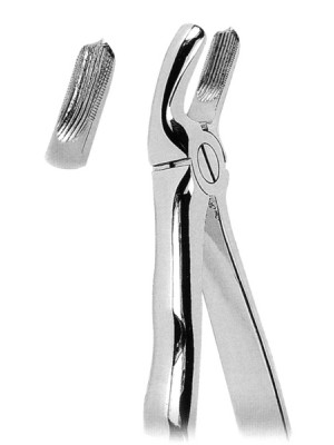 Extracting Forceps with Anatomically Shaped Handle